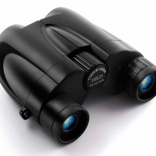 新品  双眼鏡 10倍 高倍率 10×25 進化した ミニ望遠鏡...