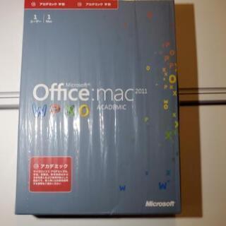値下げしました!Microsoft Office mac2011...