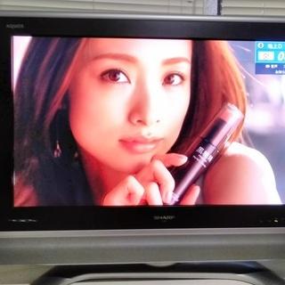 【qiu様売約中】SHARP AQUOS 32型液晶テレビ_配送設置込
