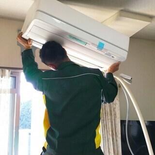 お客様が購入したエアコンの工事を請け負います