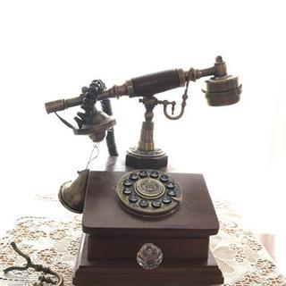 【お取り引き中】アンティーク 電話