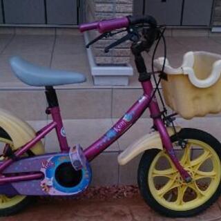 子供用自転車 12~14インチ相当 補助輪つき 幼児 キッズ