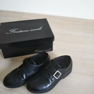キッズ革靴*21.5~22㎝