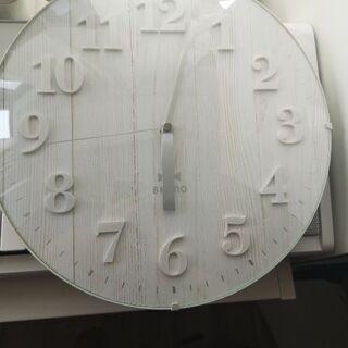 壁掛け時計 ブルーノ フランフラン
