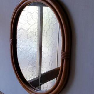 ≪値下げしました≫籘枠 鏡