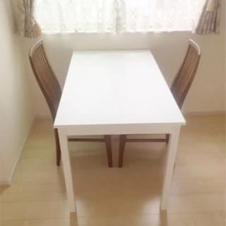 イケア IKEA テーブル 2人〜4人用 美品