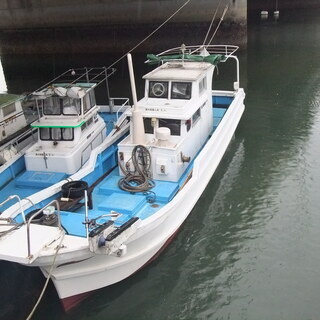 和船 漁船 ヤンマー船検付