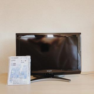 SHARP AQUOS 2011年製 26インチ 液晶カラーテレビ