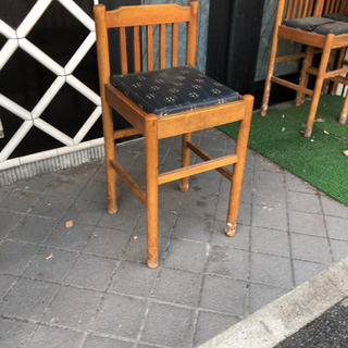 10/6-11〜15フリマ 椅子5脚/ガレージセールします