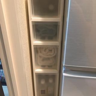 収納 すき間収納 スリムストッカー キッチン 洗面所 18cm ...