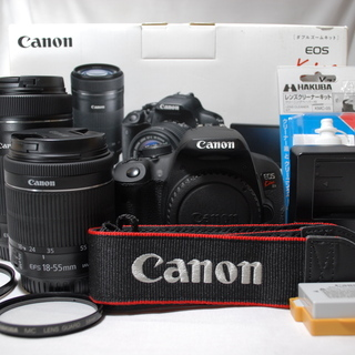 ❣️当店保証書付き❣️Canon eos kiss x7i 標準...
