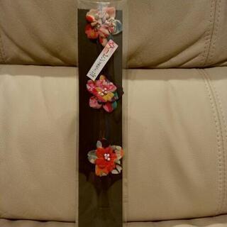 和柄花のU字ヘアピン