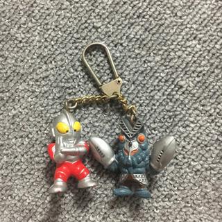 キーホルダー  ウルトラマン&バルタン星人