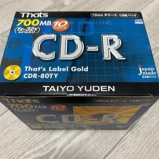 太陽誘電 CD-R 700MB 10枚セット