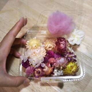 ハーバリウム、手作り用のお花達 200円で。