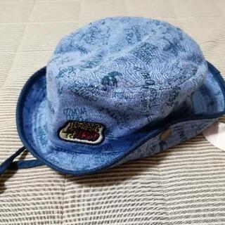 新品未使用 マザウェイズ ハット 帽子 恐竜 ブルー 52