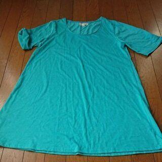チチカカ 半袖ロングTシャツ ワンピース 長袖Tシャツ