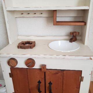 木製ままごとキッチン