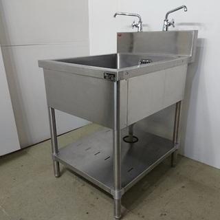 【業務用厨房機器】 マルゼン 一槽シンク BS1-067 【中古】