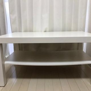 【IKEA/使用期間1年半/白】ローテーブルお譲りします