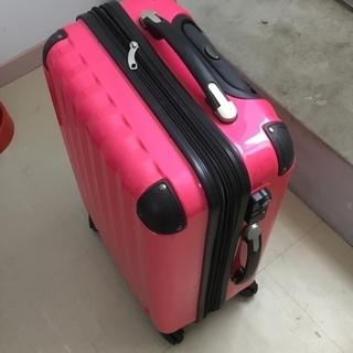 スーツケース(ピンク)