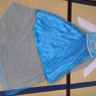 ハロウィン衣装 エルサのドレス