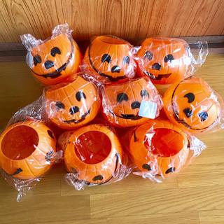 9個セット ハロウィン かぼちゃのバスケット