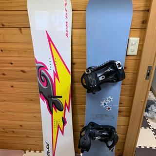 スノーボード 板2枚&靴 3点セット メンズ