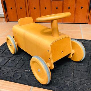 ꙳★*゚KIDS꙳★*゚木製車/無印良品