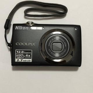 Nikon coolpix s3000 ニコン デジカメ美品