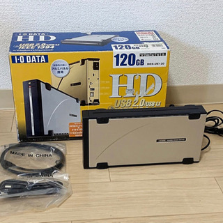 I-O DATA 120GM HDX-UE120 USB2.0/...