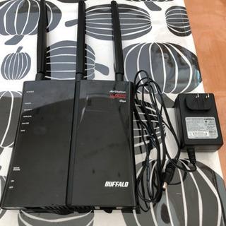 無線LANルーター BUFFALO WZR-450HP 中古