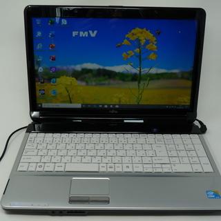 ノートパソコン Fujitsu AH530/3B 新品SSD W...
