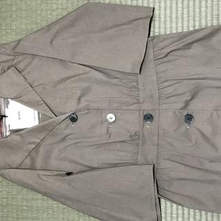 ROPE七分袖綿シャツジャケット、未使用です!値下げしました。