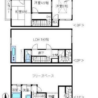 ペット可能♫敷地内ガレージ付き♫フルリノベーション物件♫駅まで徒...