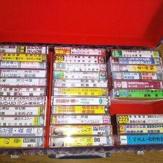 カラオケカセットテープ31本セットA