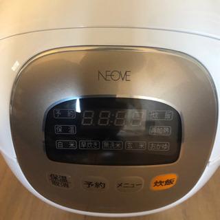 新品☆期間限定価格 ネオーブ マイコンジャー炊飯器