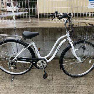 マルイシ 26インチ 6段変速 3月購入 シティサイクル