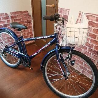 26インチ子供用自転車 新品