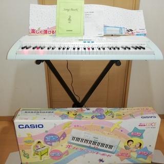 【値下げしました】CASIO 電子キーボード LK-108 スタ...