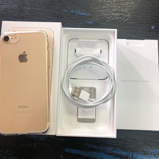 【美品】iPhone7 128gb ゴールド 【SIMフリー】