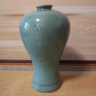 高麗青磁  韓国青磁  花瓶  趙京