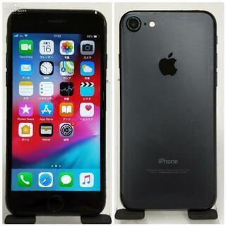 SIMフリー iPhone7 128GB Black バッテリー85%
