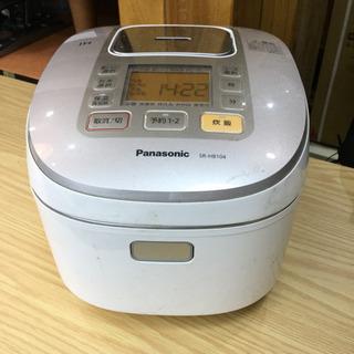 #2818 パナソニック 5.5合 炊飯器 IH式 SR-HB1...