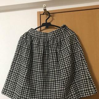 ロペピクニック 千鳥格子柄スカート