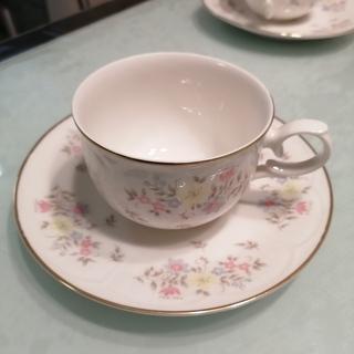 [未使用品]MARUI コーヒーカップ&ソーサ 花柄 来客用 - 海老名市