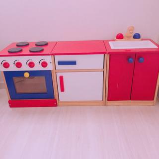 おままごと 木製キッチン