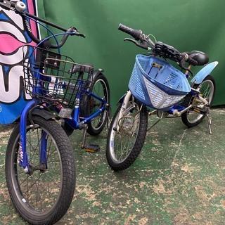 ♪子供用自転車 2台set 現状車/配達可♪