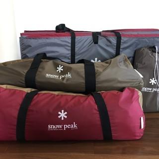 スノーピーク snow peak テント&タープ&マットセット