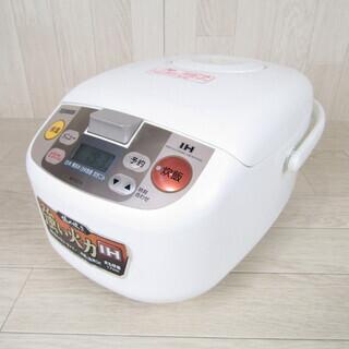 QB1054 炊飯器 象印 稼働品 NP-EC10 5合炊き 厚...